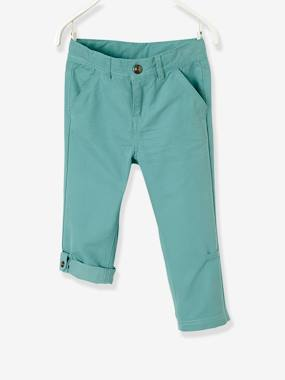 Indestructible Trousers-Boys' Indestructible Cropped Trousers, Convertible into Bermuda Shorts
