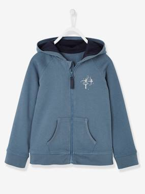 Girls-Cardigans, Jumpers & Sweatshirts-Cardigans-Girls' Jacket with Zip