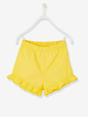Bonnes affaires-Short fille en popeline