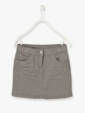 Mid season sale-Girls' Denim Skirt