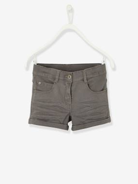 Girls-Shorts-Girls' Stretch Twill Shorts