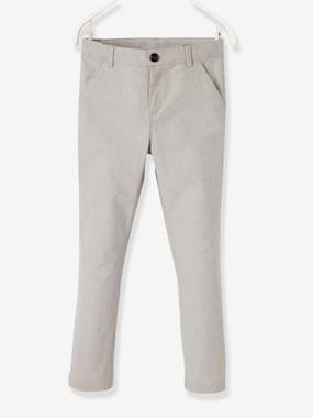 DOLCE VITA - CIAO BELLISSIMA-Boys' Chinos, in Cotton and Stretch Linen