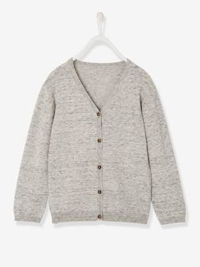 Boys-Cardigans, Jumpers & Sweatshirts-Cardigans-Boys' V-Neck Cardigan