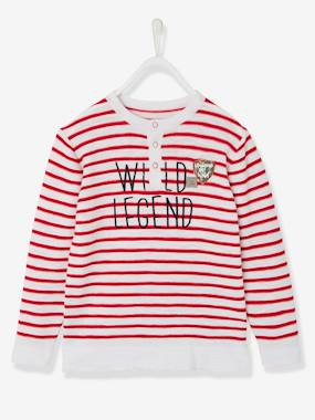 Boys-Cardigans, Jumpers & Sweatshirts-Jumpers-Boys' Striped Top