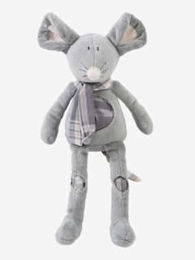 Toys-Cuddly Toys & Rattles-Plush Mouse Soft Toy