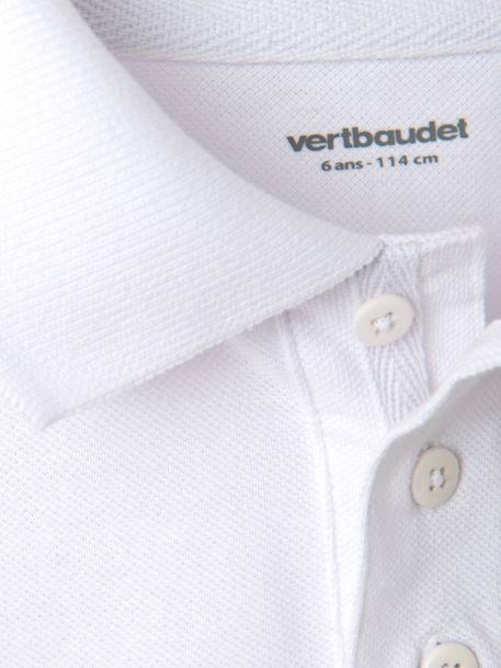 Boys' Polo Shirt White - vertbaudet enfant