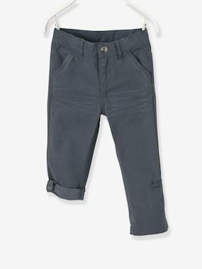 Mid season sale-Boys' Indestructible Cropped Trousers, Convertible into Bermuda Shorts