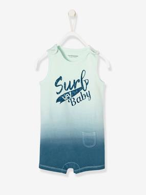 Baby-Dungarees & All-in-ones-Baby Boys' Tie-Dye Playsuit