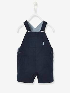 Baby-Baby Boys' Short Dungarees
