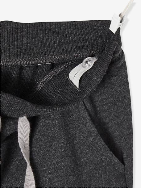 Boys' Fleece Trousers BLACK DARK SOLID+BLUE DARK SOLID+GREEN LIGHT SOLID+GREY MEDIUM MIXED COLOR - vertbaudet enfant