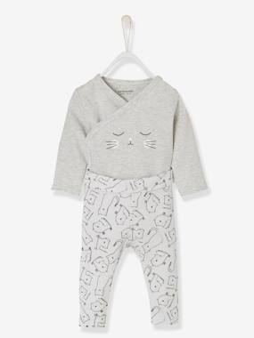 super sweet kitten-2-Piece Cat Set, for Newborn Babies
