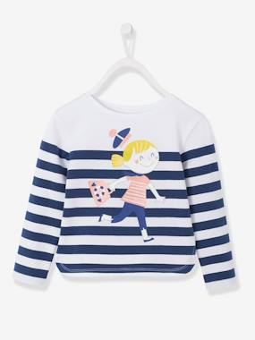 Girls-Tops-Girls Jersey Knit T-shirt