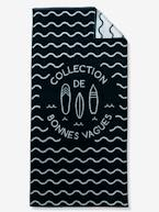 Beach Towel, Cool Waves Theme  - vertbaudet enfant