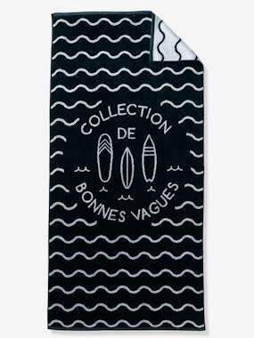 Vertbaudet Collection-Bedding-Beach Towel, Cool Waves Theme