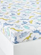 Children's Fitted Sheet, DINOMANIA Theme  - vertbaudet enfant