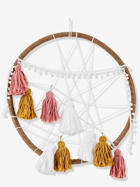 Dreamcatcher, XL Farou BEIGE LIGHT SOLID WITH DESIGN - vertbaudet enfant