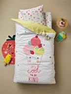 Children's Reversible Duvet Cover + Pillowcase Set, Candy Theme  - vertbaudet enfant