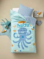 Children's Duvet Cover + Pillowcase Set, Super Octopus Theme  - vertbaudet enfant