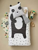 Children's Duvet Cover + Pillowcase Set, My Panda Friend Theme  - vertbaudet enfant