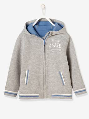 Boys-Cardigans, Jumpers & Sweatshirts-Cardigans-Boys' Jacket with Zip