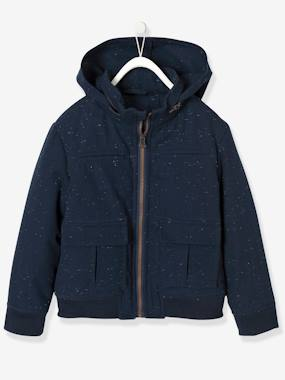 Boys-Coats & Jackets-Parkas & Coats-Boys' Jacket in Stylish Fabric