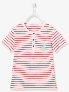 Outlet-Boys' Striped T-Shirt