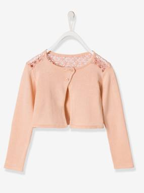 Girls-Cardigans, Jumpers & Sweatshirts-Girls' Lace Cardigan