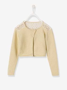 Outlet-Girls' Lace Cardigan