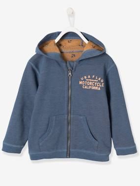 Boys-Sweatshirts & Hoodies-Boys' Reversible Jacket with Zip