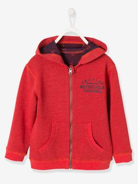 Boys-Cardigans, Jumpers & Sweatshirts-Cardigans-Boys' Reversible Jacket with Zip