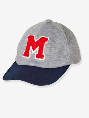 Boys-Sportswear-Boys' Cap with Flocked Letter M