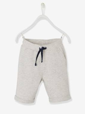 Vertbaudet Collection-Boys-Boys' Fleece Bermuda Shorts