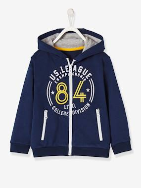 Sportwear-Boys-Boys' Jacket with Zip and Hood