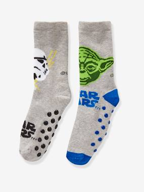 Boys-Underwear-Boys' Pack of 2 Pairs of Star Wars® Socks