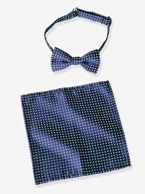 Boys-Accessories-Boys' Bow Tie + Pocket Square Set
