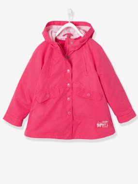 Vertbaudet Collection-Girls-Girl's 3-in-1 Parka