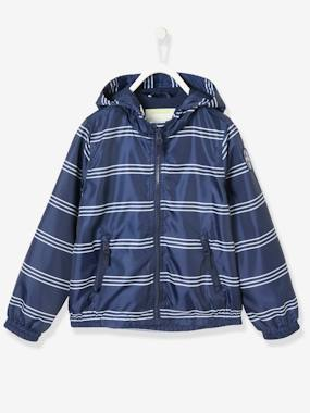 navy shark boy-Boys' Windcheater