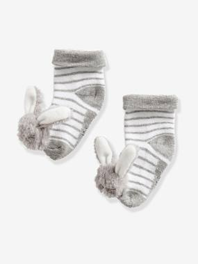 Vertbaudet Sale-Baby-Socks & Tights-Babies' Stylish Pair of Socks