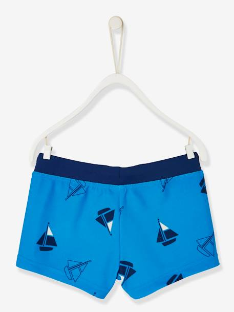 Boys' Swim Shorts BLUE BRIGHT 2 COLOR/MULTICOL - vertbaudet enfant