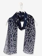 Girls' Square Scarf with Print  - vertbaudet enfant
