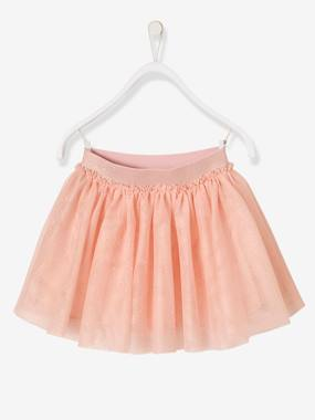 Girls-Girls' Iridescent Tulle Skirt