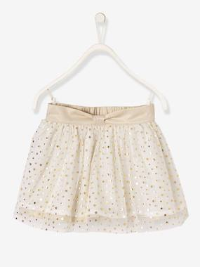 Girls-Skirts-Girls' Reversible Skirt