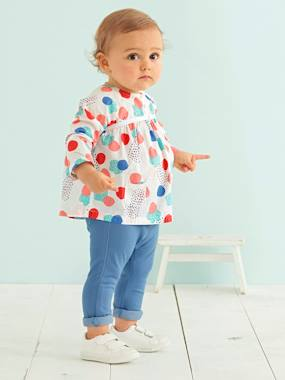 adventurer baby-Baby Girls' Printed Blouse