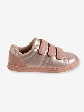 Shoes-Girls' Trainers with Touch 'n' Close Fastening Tabs