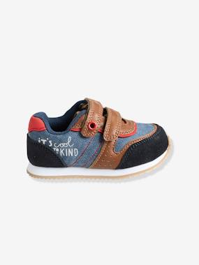 Shoes-Baby Footwear-Baby Boy Walking-Boys' Trainers with Touch 'n' Close Fastening Tab
