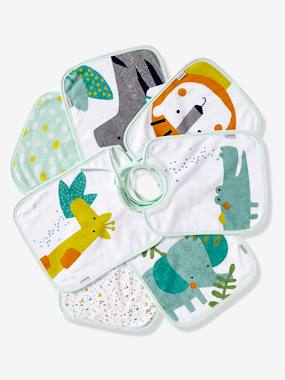 Nursery-Mealtime-Bibs-VERTBAUDET Pack of 7 Bibs