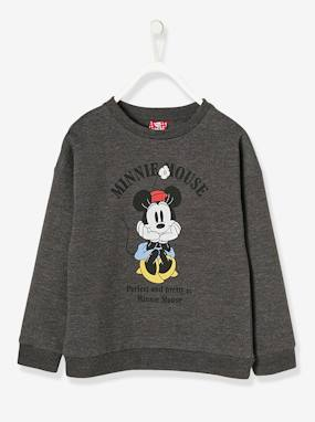 Minnie et Mickey-Sweat-shirt fille Minnie® imprimé