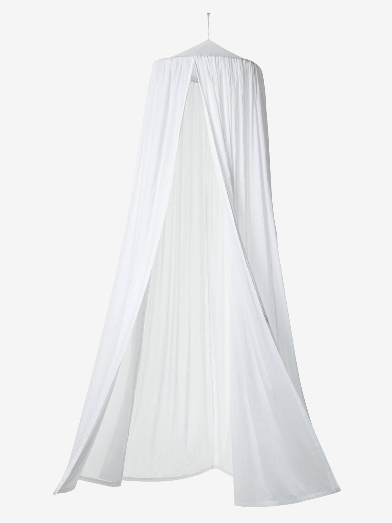 Canopy Curtain White - vertbaudet enfant & Canopy Curtain - white Decoration