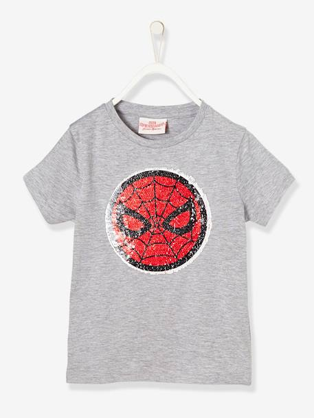 boys 39 spiderman t shirt with reversible sequins boys. Black Bedroom Furniture Sets. Home Design Ideas