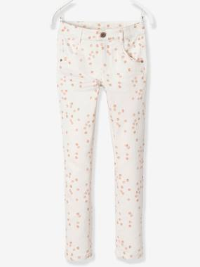 Trousers-Girls-MEDIUM Fit, Girls' Slim Fit Trousers
